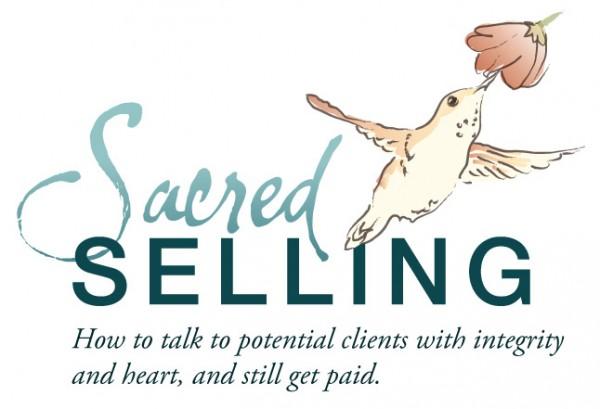 Sacred Selling logo